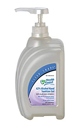 Amazon Com Health Guard 65614 62 Alcohol Hand Sanitizer Gel