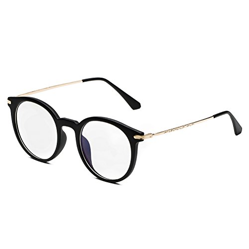 CHB Men's Women's Eyekepper Vintage Computer Glasses Anti-reflective Round - Round Frame Amazon Glasses