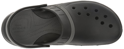 Crocs Modi Sport Clog, Sabots Mixte Adulte Noir (Black/graphite)