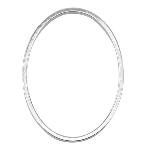 (Artistic Wire Beadalon Quick Links Oval 18 by 25mm Silver, Plated, 22-Piece)