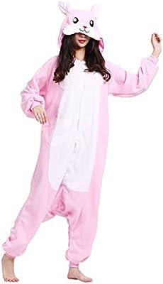 8c9d13f6d PALMFOX Unisex Cálido Pijamas para Adultos Cosplay Animales de Vestuario  Ropa de dormir Halloween y Navidad