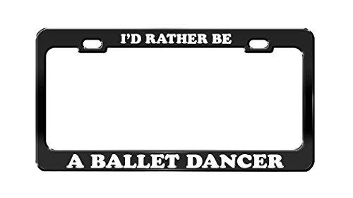 license plate frame dancer - 8