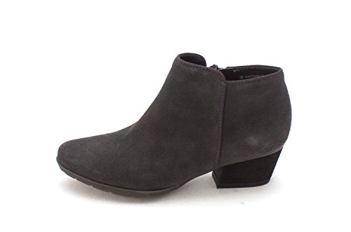 Blondo Womens Ibiza Almond Toe Ankle Fashion Boots, Black Suede, Size 6.0