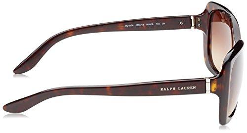 3eb38c47dbc ... Ralph Lauren - Lunette de soleil Mod.8134 - Femme Dark havana Brown  gradient ...