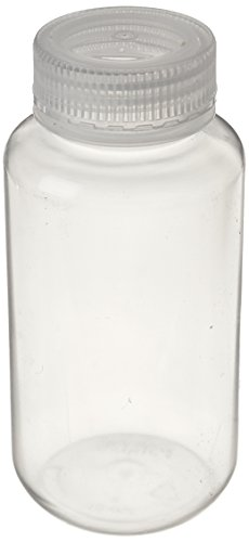 (United Scientific 33308 Polypropylene Wide Mouth Reagent Bottles, 250ml Capacity (Pack of 12))