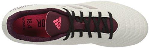 adidas Performance Womens Predator 18.4 Firm Ground Soccer Shoe Talc/Vapour Grey/Maroon KGWxlN6yI