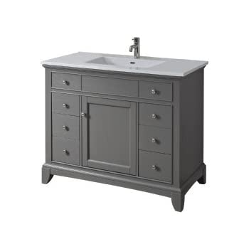 Fairmont Designs V Smithfield Vanity Medium Gray - 42 gray bathroom vanity