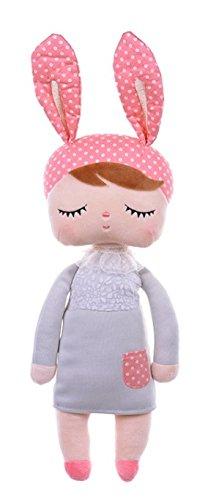 Lovely plush&stuffed toy Angela dolls rabbit animal original Metoo design for Children baby Birthday