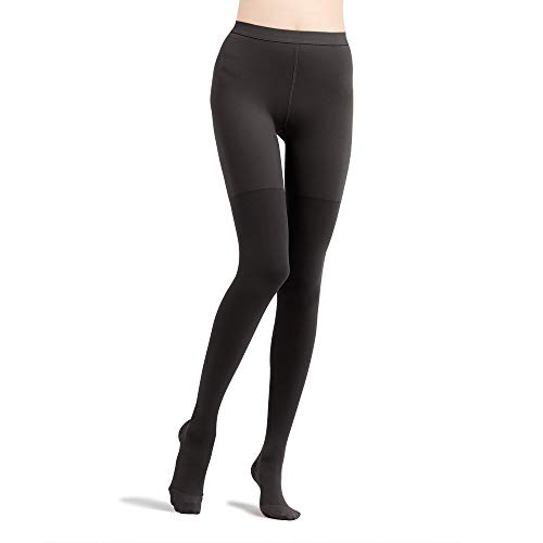 Fytto 2026 Women's Microfiber Compression Pantyhose, 15-20mmHg Support Hosiery, Flight Stockings – Improved Leg Circulation & Comfort for Professionals & Travelers, Anti-Swelling -