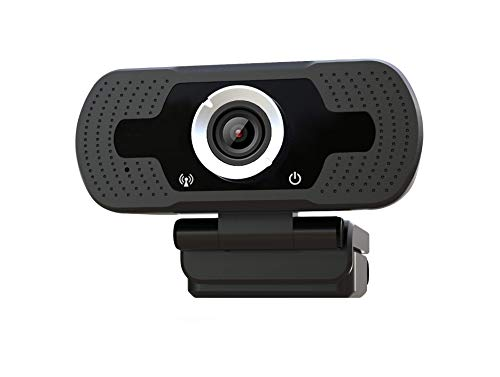Webcam-Xinidc Full HD Webcam 1080P, Web Camera with Microphone, USB 2.0 for Computer Laptops and Desktop,External Wired Live Streaming Web Camera for Skype You Tube ect (1080P) (Best Hd Camera For Skype)