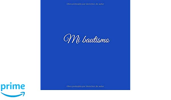 Mi bautismo: Libro De Visitas Mi bautismo para bautizo ideas regalos ...