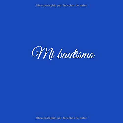 Mi bautismo: Libro De Visitas Mi bautismo para bautizo ideas regalos ...