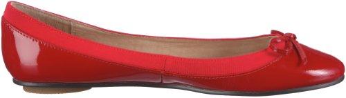 Buffalo London 207-3562 PATENT LEATHER - Cerrado de cuero mujer rojo - Rot (RED118)