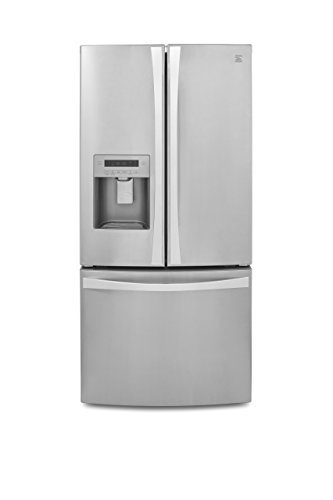 Kenmore 4673133 French Door Bottom Freezer Refrigerator with Dispenser in Stainless Steel, includes delivery and hookup (Available in select cities only) 24.2 cu. ft,