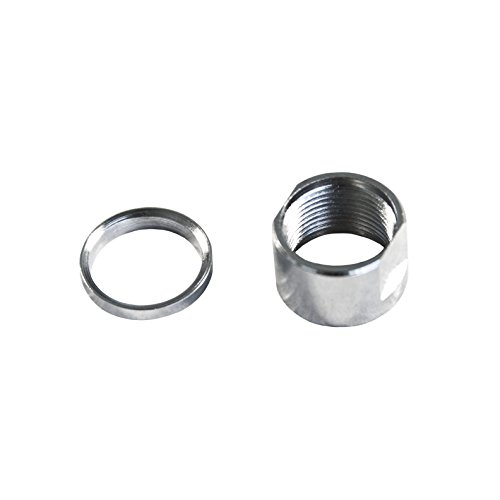 Hunter Select US Made in USA Thread Protector 1/2x 28 TPI with 1 Washer or 5/8x24 TPI with 1 Washer (d-5/8x24 Stainless)