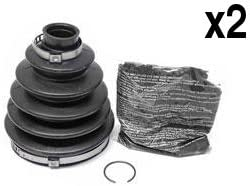 BMW e60 e90 e92 Axle Boot Kit for Front Outer Joint L+R x2 e61 e91