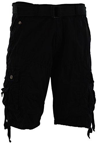 ChoiceApparel Mens Cargo Shorts with Belt (Many Pockets)