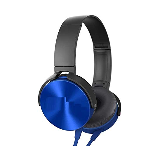 Teconica RV985 XB450 On-Ear Extra Bass Light Headphones Stereo Wired Compatible for All Smartphone Devices (Multi Colour)