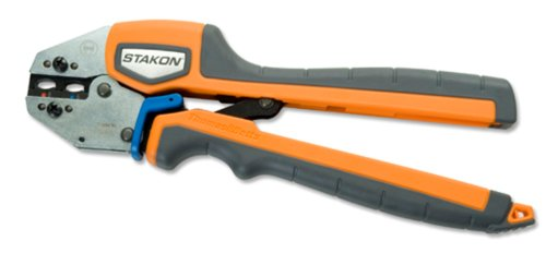 Thomas & Betts ERG4002 Ergonomic Hand Tool for Crimping A, B and C Non Insulated Terminals. Splices and Disconnects