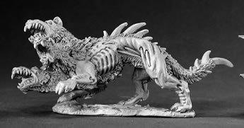 Cerberus Hound of Hell Dark Heaven Legends Miniature by Reaper Miniatures