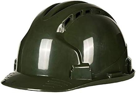 MEI XU 安全ヘルメット - 建設現場/建設工学男性と女性通気性防ダニABS高強度保護ヘルメット(4色オプション) // (色 : C)