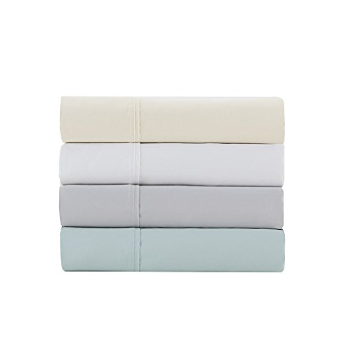 1500 Thread Count Cotton Blend Pillow Cases Standard Size, Casual Luxury Machine Washable Pillow Case Set of 2, Standard : 20 X 30, Seafoam