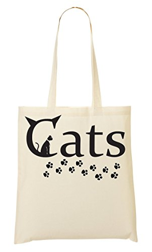 Provisions Cats Sticker Sac Car Paws Fourre Tout Sac À zzxf8wrq