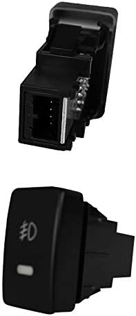 Spec-D Tuning LF-CV124AMOEM-HZ Amber Fog Light Orem 4 Door