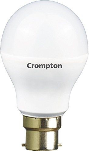 Crompton 7WDF-CDL-BI 7-Watt B22 Base LED Bulb (Pack of 3, Cool Day Light)