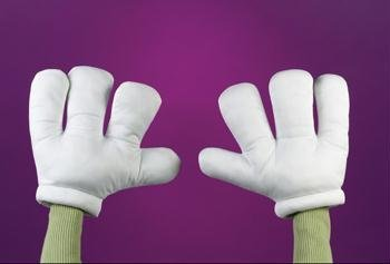 Halloween Cartoon Costume (Cartoon Gloves)