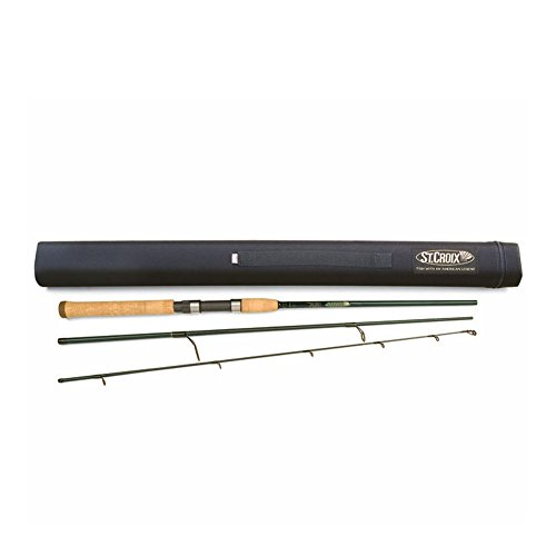 St. Croix TIS76MF3 Medium Tidemaster Inshore Travel Spinning Rod - 7 ft. 6 in. by St.Croix Rod