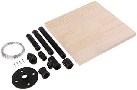 粘土彫刻サポートベース 木板 金属パイプ ジョイントパイプ ベントパイプ メタルベース 金属線 手芸
