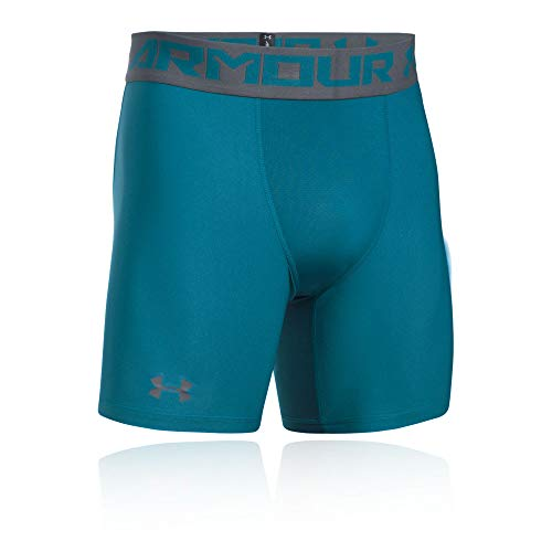 Under Armour HeatGear 2.0 Compression Short - X Small - Green by Under Armour (Image #4)