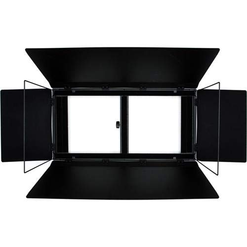 Aladdin Barn Doors2 with Frame and Diffuser for 24x12 Bi-Flex2 Panel Light by Aladdin