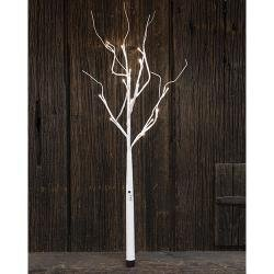 Heart of America White Wrapped Branch 27''