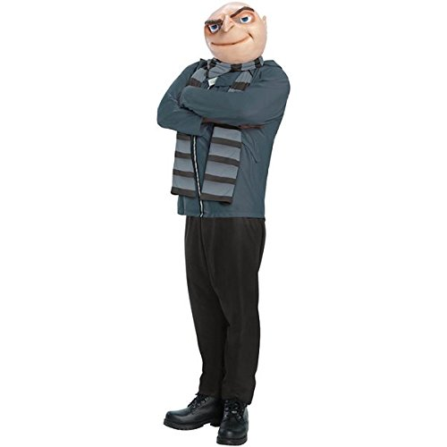 Despicable Me Minion Baby Halloween Costumes (Rubie's Costume Morris Costumes Men's Despicable Me Gru)