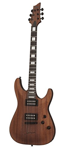 Schecter 6 String Solid-Body Electric Guitar, Natural Satin (3051)