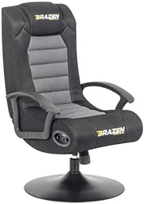 Phenomenal Brazen Stag 2 1 Bluetooth Surround Sound Gaming Chair Grey Black Height 94 Cm Width 54 Cm Length 71 Cm Evergreenethics Interior Chair Design Evergreenethicsorg