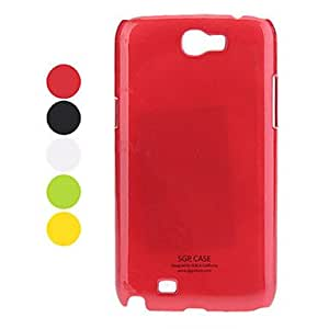 Samsung Mobile Phone Back Covers for Galaxy Note 2/7100(5 Colors) --- COLOR:Black