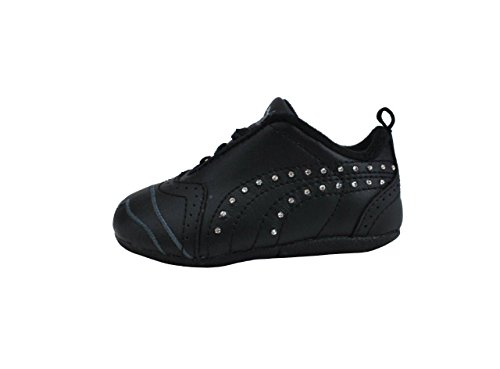 3bc1c9a1d5fd PUMA Shoes Sela Diamond Rhinestone Infant Toddler Black Sneakers ...