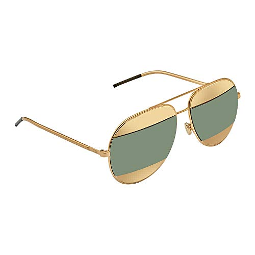 Christian Dior Fashion Sunglasses - Dior Women CD SPLIT1 59 Rose Gold/Silver Sunglasses 59mm
