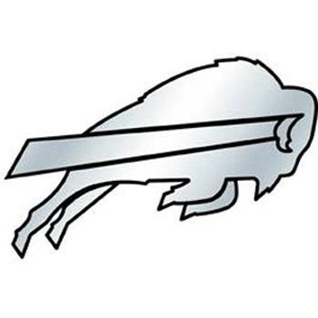 NFL Buffalo Bills Chrome Automobile Emblem (Buffalo Bills Auto Decal compare prices)