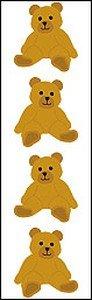 Brown Bear - Mrs Grossmans Sticker Strips