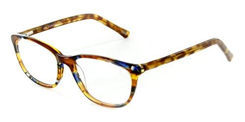 Aloha Eyewear Tek Spex 1007 Women's Photo-Chromatic Progressive Bifocal Reader Glasses / Sunglasses (Tortoise / Blue w/ Regular Tint - Eyewear Line See