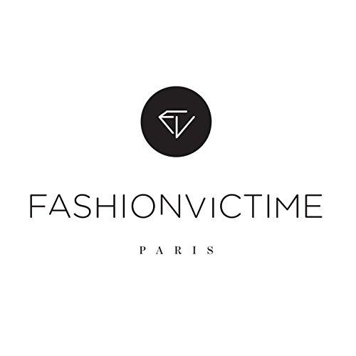 """Fashionvictime - Bague Femme - """"Rectangle"""" - Argent 925 - Cubic Zirconium (Cz) - Bijou"""