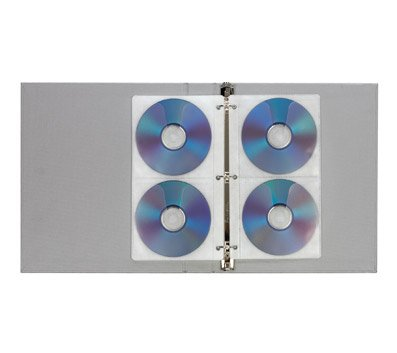 Poly Cd / Dvd Holders ([IN]PLACE - CD/DVD Disc Poly Holder/Storage Pages, 5 inch x 10 inch)
