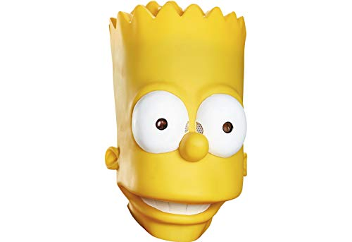 Disguise Men's Bart Adult Costume Mask, Yellow, One Size ()