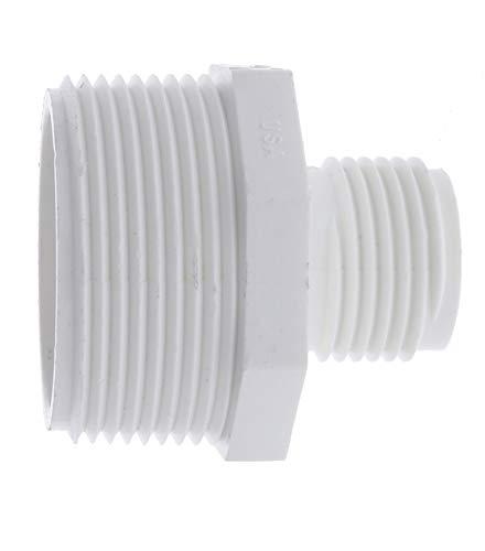 PVC Garden Hose Adapter (Male 1.5