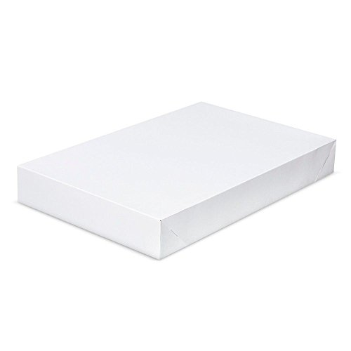 10 Pack White Shirt Gift Wrap Boxes with Lids by ALL DAY GIFTS