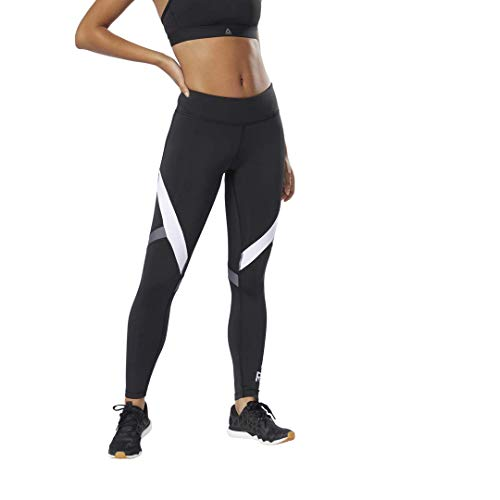Reebok Women's Ready Big Delta Workout Tights